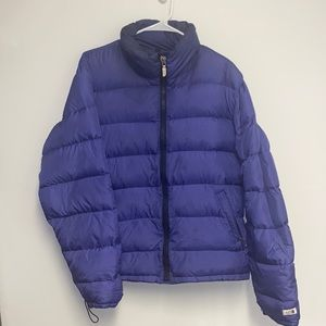 Vintage the north face down puffer jacket